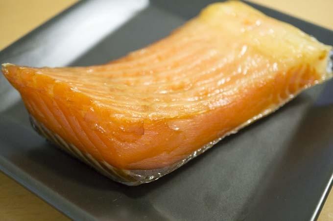 燻製鮭ハラミ