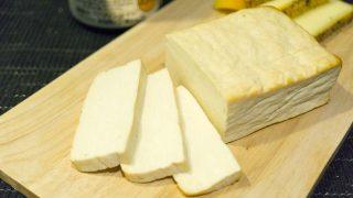 【燻製レシピ】珍品?豆腐の燻製。シンプルに塩とコンソメで味付け