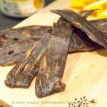 【燻製レシピ】醤油と塩昆布の和風ビーフジャーキーを作ろう!