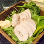 【おつまみレシピ】鶏ハムじゃなくて塩鶏!サラダやBBQの前菜に