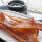【燻製レシピ】鶏むね肉のジャーキー、肉厚に切るのが美味しいポイント?