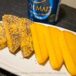 【燻製レシピ】燻製の基本・チーズの燻製!燻製向きの雪印6Pチーズ